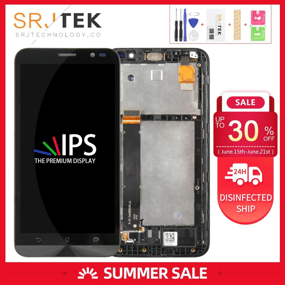 Screen For <font><b>Asus</b></font> ZenFone ZB551KL Display Go TV TD-LTE <font><b>X013D</b></font> Display X013DB LCD Touch Digitizer Glass Assembly Frame ZB551KL LCD image