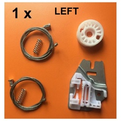 FOR BMW 3 SERIES E46 WINDOW REGULATOR REPAIR KIT with METAL SLIDER REAR LEFT 1998-2005