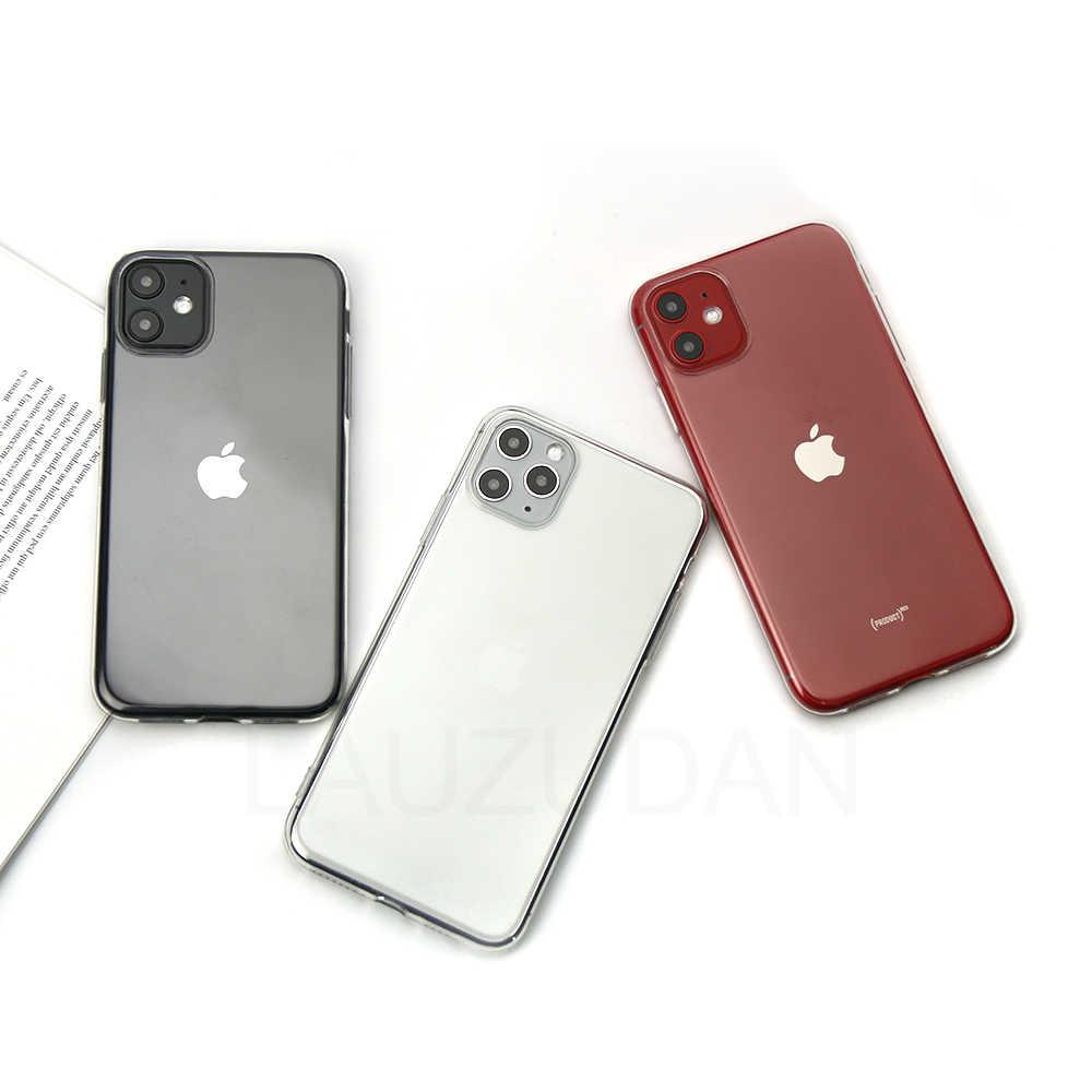 ใสโทรศัพท์กรณีสำหรับiPhone 7กรณีiPhone XRกรณีซิลิคอนนุ่มสำหรับiPhone 11 12 Pro XS Max X 8 7 6 S Plus 5 5s SE 9