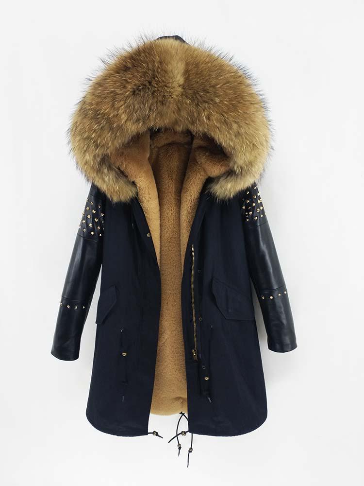 Natural Fur Streetwear Women 31