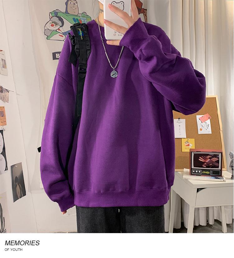 H49fb12409bd34d0a945643b8fec436c18 loose Korean style plus size sweatshirt winter clothes streetwear women 2020 new fashion plus velvet oversize harajuku hoodie