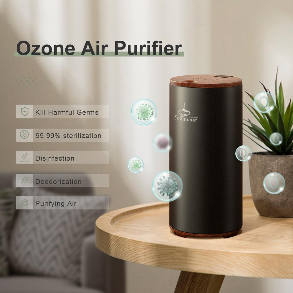 Gx.diffuser Ozone Generator Air-Purifier Germs Formaldehyde Rechargeable Deodorization