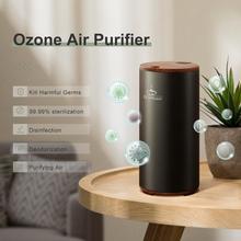 GX. Difusor de ozono purificador de aire formaldehído que elimina la desodorización del coche ionizador de aire recargable generador de ozono previene gérmenes