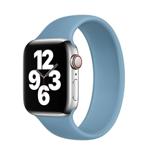 Strap for Apple Watch Band 44mm 40mm iWatch bands 38mm 42 mm Belt Silicone bracelet watchbands for series 6 5 4 3 2 SE Solo Loop