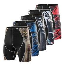 Летние шорты для бега, мужские спортивные шорты, укороченные компрессионные штаны, спортивная одежда, эластичные быстросохнущие шорты, мужские спортивные штаны для фитнеса, мужские шорты