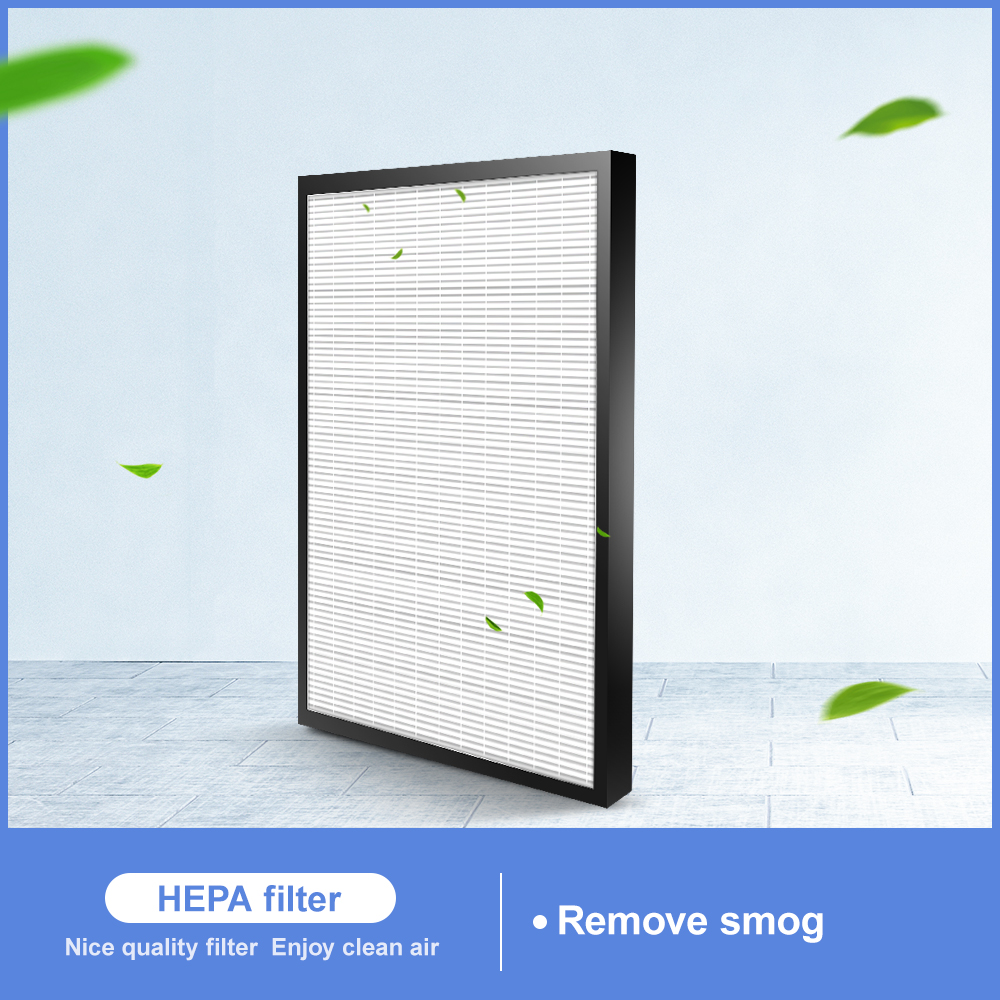 1PCS Replacement HEPA Filter For Sharp KC-D40 KC-D50 Filter For KC-E40-W KC-E50-W KC-F50-W 400*220*28mm