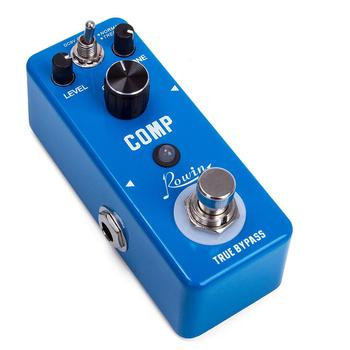 Rowin LEF-333 Guitar Compressor Pedal Digital Comp Effect Pedals For Electric Guitar Classic Studio Grade Compressors moen compressor guitar effect pedal vol comp eq controls ture bypass stompbox for electric guitar