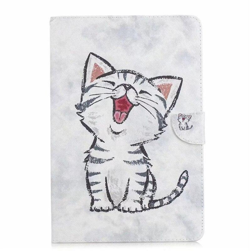 Cute Unicorn Cat PU Leather Case For Samsung Galaxy Tab S4 10.5 T830 T835 SM-T830 SM-T835 10.5\