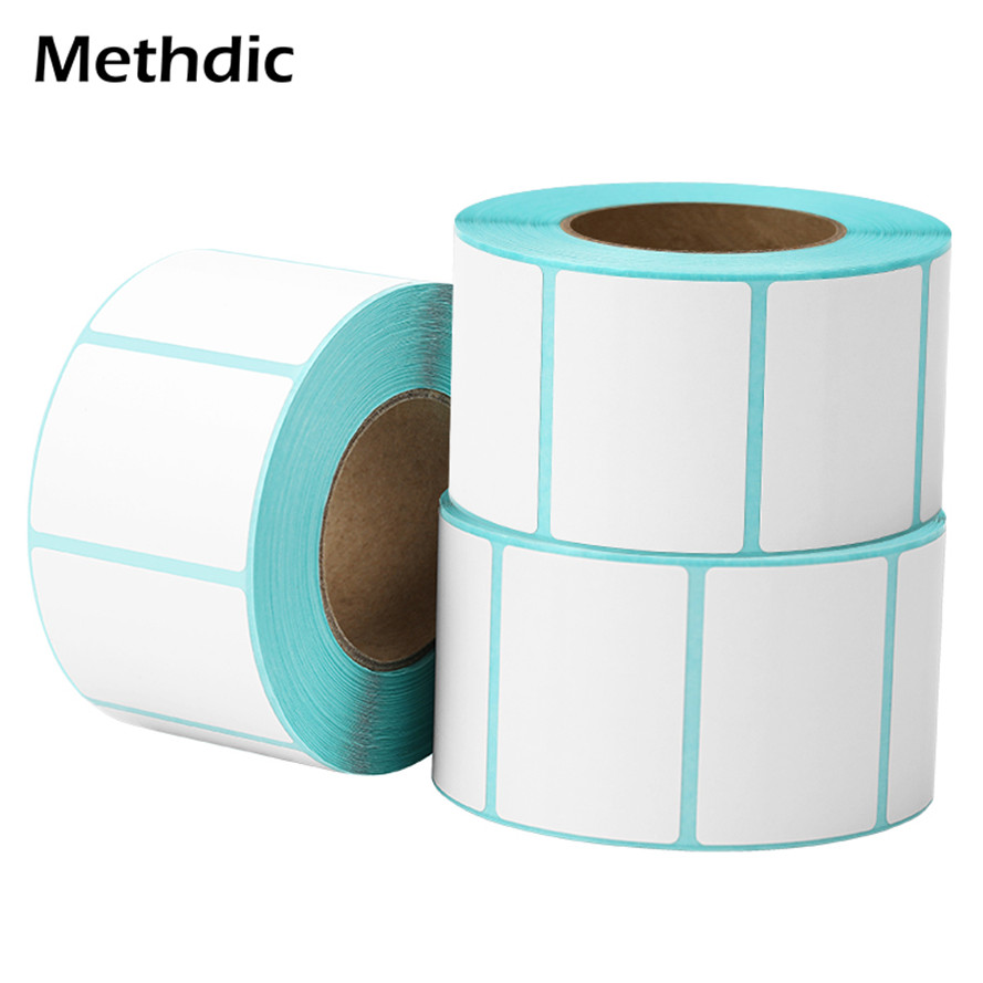 Methdic  2 Rolls Printing Label Direct Thermal Shipping Labels