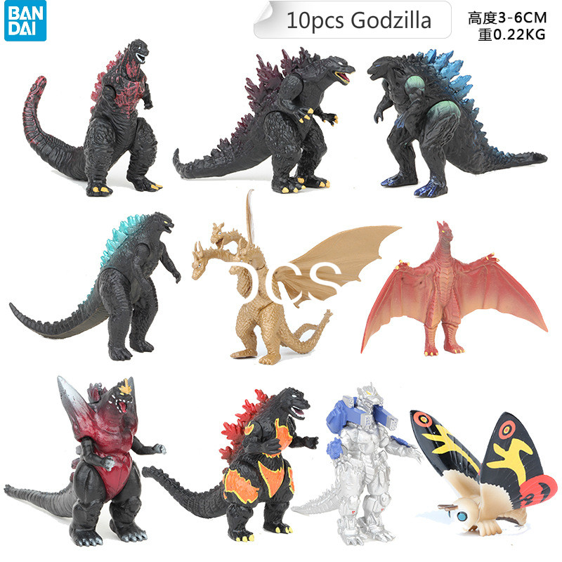 A lot of fun Ultraman Gomora Godzilla Hydreigon Joint mobility Collection of articles and accessories Action Model Toy Figures