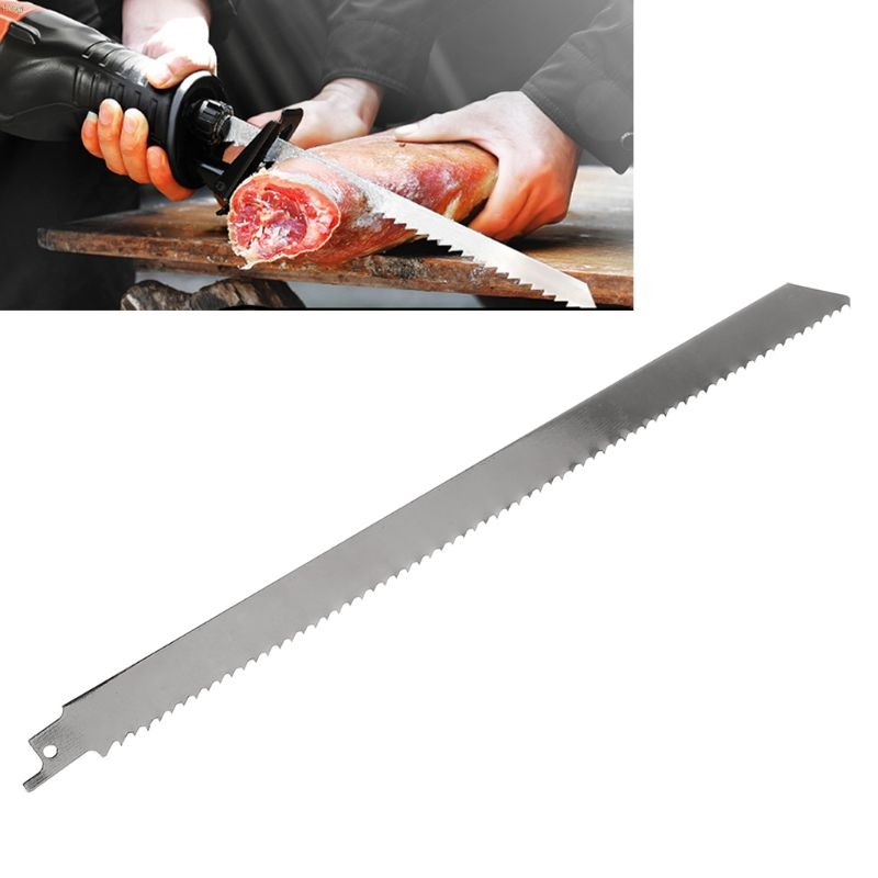 Stainless Steel 300mm Reciprocating Power Saw Blade With Fine Tooth Effective For Cutting Wood Woodworking Tool Accessories L29k