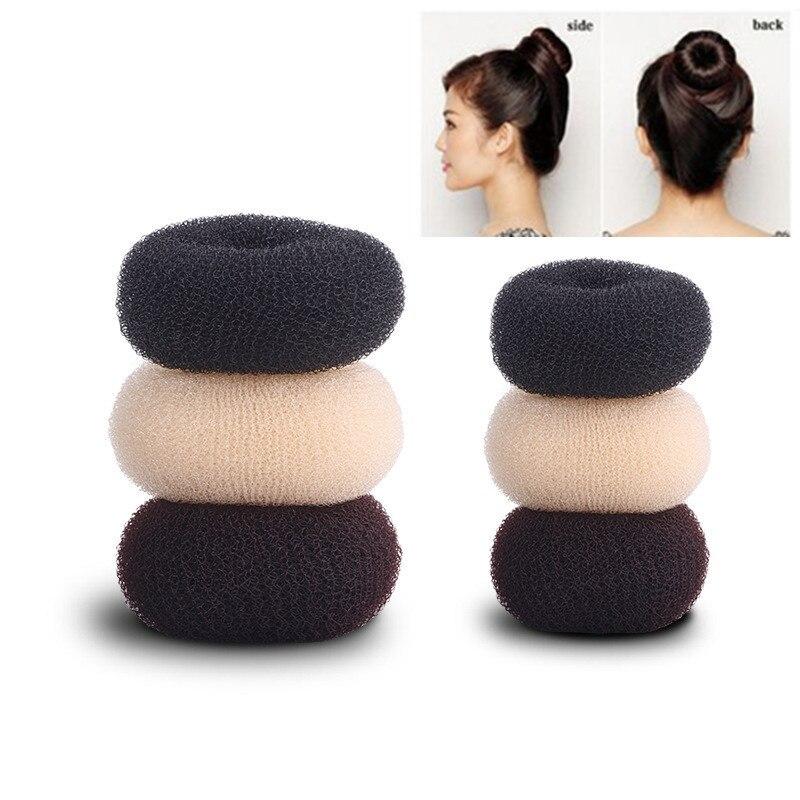 Женское кольцо-булочка для волос, волшебное Корректирующее кольцо для волос, аксессуары для укладки волос, инструмент для макияжа