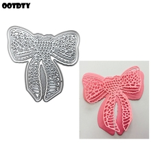 Double Bow Metal Cutting Dies Stencil Scrapbooking DIY Album Stamp Paper Cards Embossing Decor Craft Art New Dies for 2020 leaf lantern metal cutting dies stencil scrapbooking diy album stamp paper cards embossing decor craft art new dies for 2020