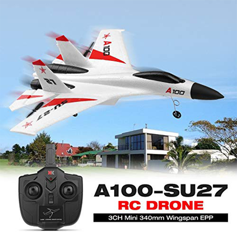 Wltoys A100-Annihilation 11 3CH RC <font><b>FPV</b></font> <font><b>Racing</b></font> Airplane Toys Mini EPP rc Plane <font><b>Drone</b></font> Toy with High Speed image