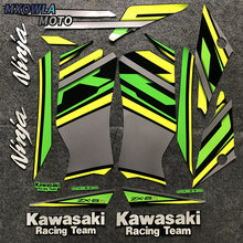 цены Motorcycle For Kawasaki NinjaZX6R Ninja ZX6R ZX6R 2019 Full Kit High Quality Sticker Decal