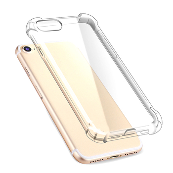 Silicone Phone Case For iPhone X XS XR XS Max 8 7 Plus 6 6S Plus 5 5S Case Luxury Shockproof Transparent Protection Back Cover image