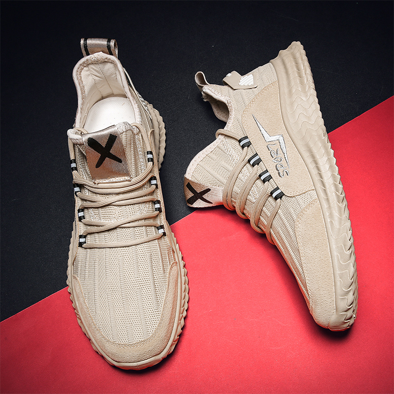 New Fashion Sneakers Man Breathable Shoes For Men Summer Comfortable Casual Men's Shoes 2020 Mesh Lightweight Zapatillas Hombre