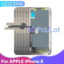 10pcs Grade Quality For Apple X LCD Display With Touch Screen Digitizer Assembly Replacement For Apple iPhone X 100%Tested