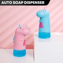 Automatic Soap Dispenser Children Cute Dinosaur Bathroom Accessories Childs Intelligent Induction Foam Washing Hands Sanatizer