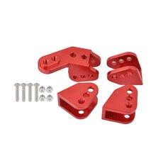 Alumínio inferior link conjunto de montagem para o eixo para redcat gen8 scout ii rer11414 rer11337 1/10 rc rastreador