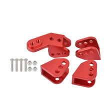 Aluminum Lower Link Mount Set For Axle for Redcat Gen8 Scout II RER11414 RER11337 1/10 RC Crawler