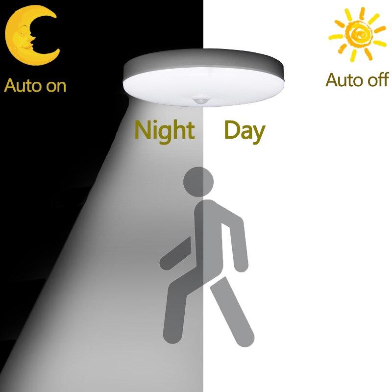 E27 Lamp With Motion Sensor Night Light  LED Bulb PIR Sensor Auto On Off 12W 18W Ceiling Light Stair Hallways Home Night Lamp