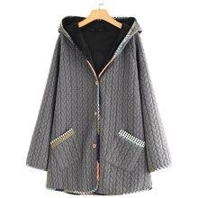 2019 Jacket Women Plus Size Women Clothes Autumn/Winter Coat Regular Solid Slim Casual Warm Parkas Female Fur M-5XL New Hot Sale цены онлайн