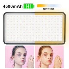 Manbily MFL 06 3000 6500K Mini caméra vidéo LED lumière Dimmable 96 LED lampe déclairage photographique pour reflex numérique Canon Nikon Pentax