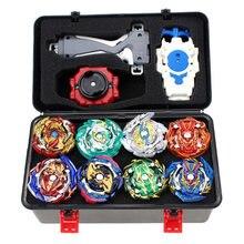 Ensemble de jouets Beyblade Burst, arène, Fusion de métal, Gyro de combat avec lanceur, toupie, nouveau