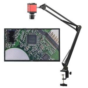Промышленная цифровая видеокамера с микроскопом, 1080P, 14MP, HDMI, VGA, 35 мм, объектив с фиксированным фокусом, рабочее расстояние, 2020