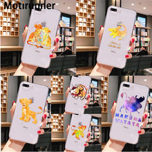 Motirunner Lion King Pumba Hakuna Matata DIY INDAH UNTUK iPhone 11 Pro XS MAX 8 7 6 6S Plus X XR 5 5S SE Cover(China)