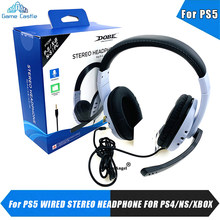 Wired Headset Gamer PC For Xbox one PC PS3 PS4 PS5 NS Headsets 3.5mm Surround Sound Gaming Overear Laptop Tablet Gamer Earphones