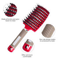 Kamm Haar Pinsel Haar Kam Entwirren Professional Hair pinsel Haar Frauen escova de cabelo haar kamm für drop verschiffen