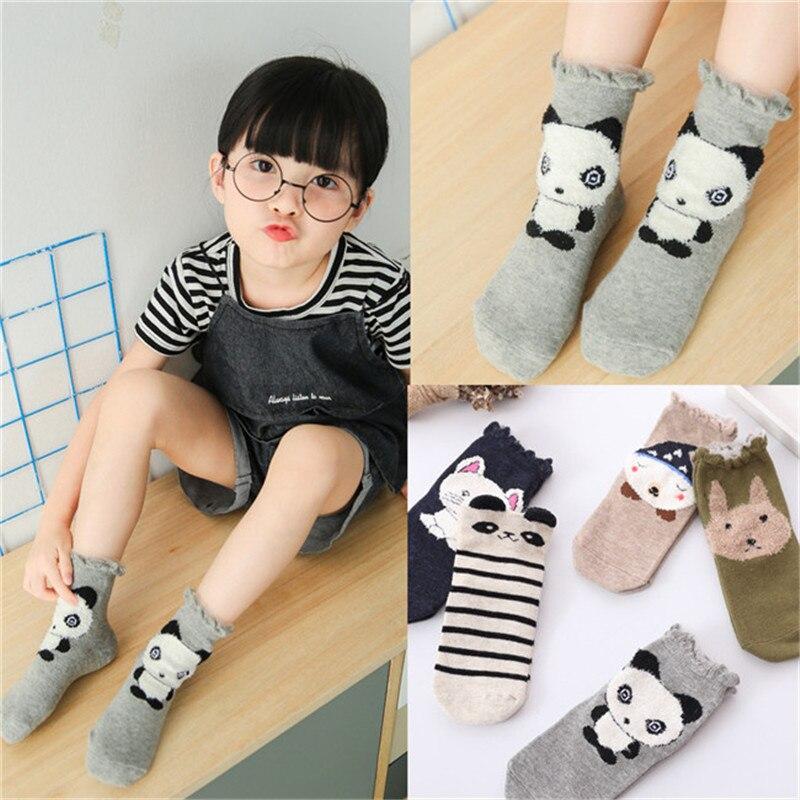 5pairs/lot Autumn,Winter New Kids Cotton Socks Boy,Girl,Baby,Infant,toddler Fashion Cartoon Sports Socks,For Children Gifts CN