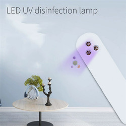 1.5W Portable 3LED UV Germicidal Lamp Household Disinfection Lamp Handheld Sterilization Stick for Home Outdoor Use
