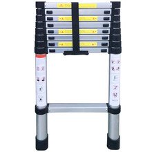 New 8.53FT(2.6m) Aluminium Alloy Ladder Extension Ladders Telescopic Extendable 150kg Bear Weight with Locking Mechanisms Safety(China)