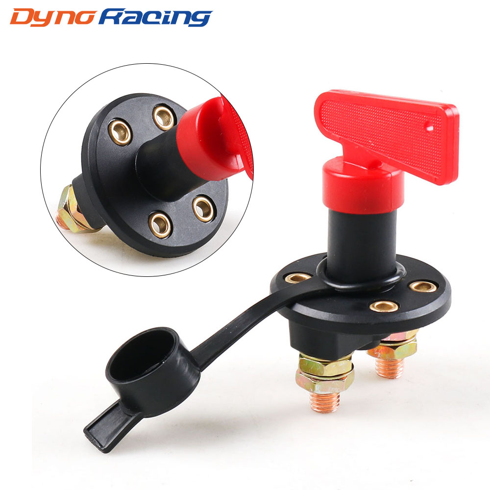 12V CAR TRUCK BATTERY ISOLATOR DISCONNECT CUT OFF POWER KILL SWITCH AUTOMOTIVE