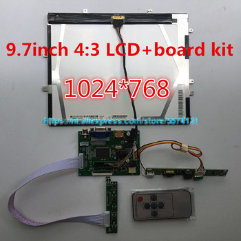 9.7inch 1024*768 HD screen display 4:3 LCD Controller LP097X02 LTN097XL01 monitor driver board HDMI VGA 2AV for Raspberry Pi 8 inch ips 1024 768 tablet lcd display screen hj080ia 01e he080ia 01d driver board audio control for raspberry hdmi vga