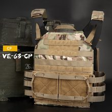 ציד גוף שריון JPC Molle Carrier פלייט אפוד חיצוני CS משחק פיינטבול Airsoft אפוד ירי אבזרים(China)