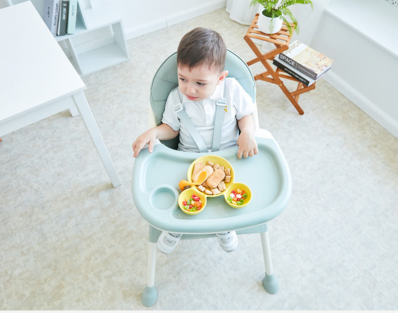 Baby Dining Chair Children Dining Chair Folding Multifunctional Portable Baby Plastic Dining Chair Eating Chair