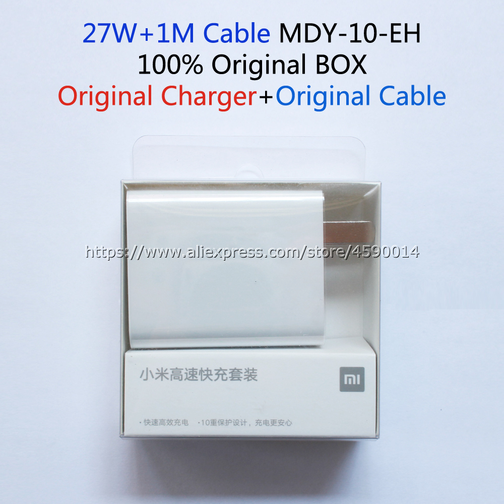 Image 4 - MDY 10 EH For Xiaomi Mi9 Charger Original 27W QC4.0 High Speed Charger EU Adapter For Xiaomi Mi9T CC9 Redmi K20 Pro Note 8 Pro-in Mobile Phone Chargers from Cellphones & Telecommunications