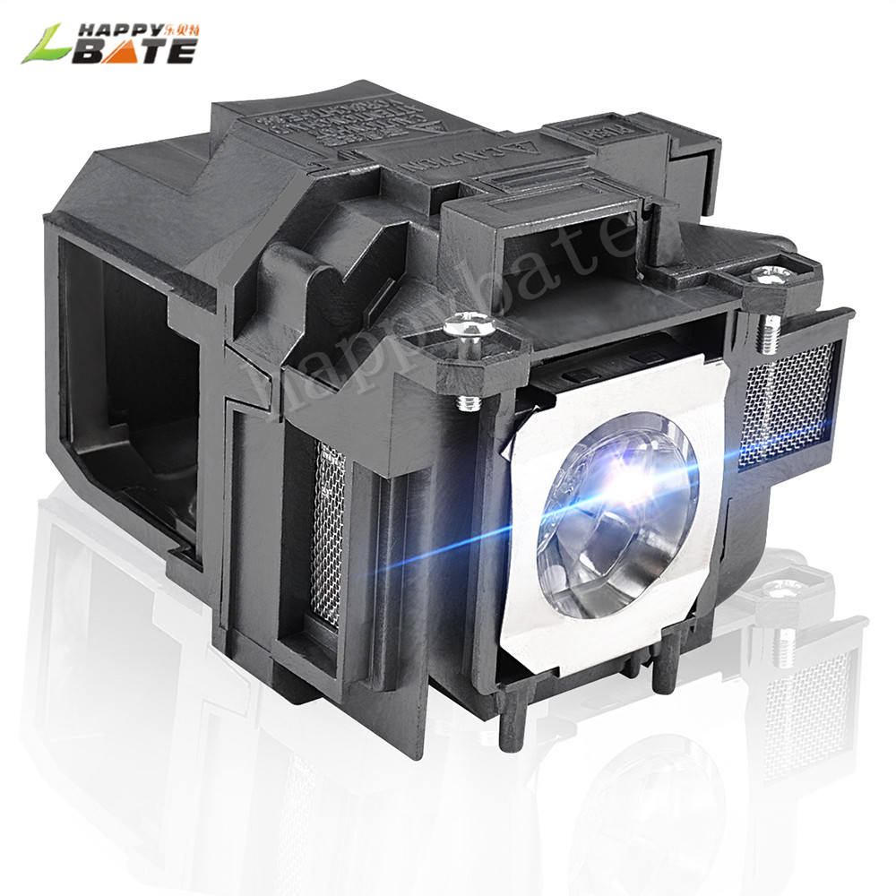 HAPPYBATE Replacement Projector Lamp With Housing ELPLP78 For EB-X20 EB-X18 EB-X120 EB-X03 EB-W28 EB-W22 EB-W18 EB-W120 EB-W03