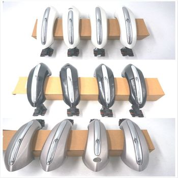 4pcs set outside door handle front rear exterior door handles for hyundai sonata Champagne Black WHITE car Exterior Comfort Access FRONT REAR LEFT RIGHT DOOR HANDLE for BMW 5 6 7 series F01 F02 F06 51217231931