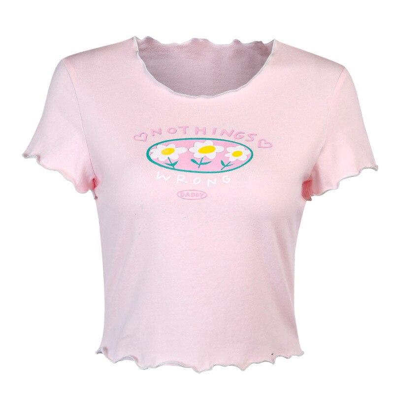 Купить футболка женская хлопковая с надписью и принтом «dappy»
