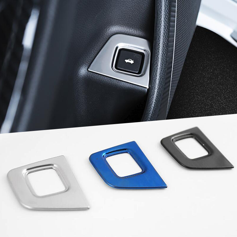 Rear Trunk Switch Button Trim 5 Pcs For Tiguan 2016-2019 Armrest Window Lift