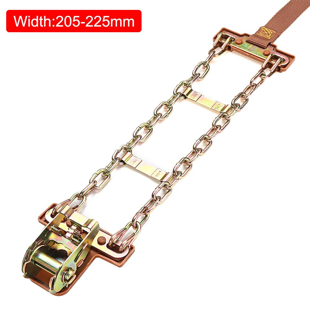 2019 Winter Balancing Anti-slip Steel Chain Wear-resistant Car Chains For Ice Snow Mud Road image