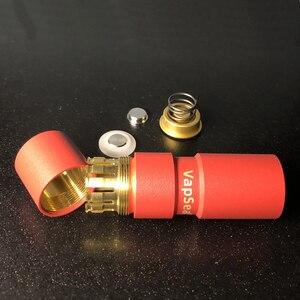 Image 3 - オリジナル vapsea 26 ミリメートル直径 18650 mod キットバッテリー機械式のための吸う 18650 電子タバコメカ mod キット