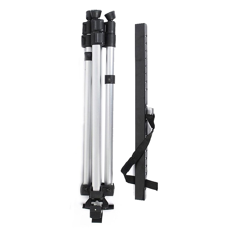 Portable Adjustable Aluminum Artist Sketching Painting Display Easel Stand + Carrying Bag (Silver)