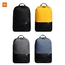 Новейший Простой повседневный рюкзак Xiaomi, 20 л, большая емкость, 450 г, супер-светильник, инновационный водонепроницаемый рюкзак для ноутбука с боковыми карманами