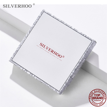 SILVERHOO Unique Ring Boxes Bracelet Jewelry Box Necklace and Earrings Display 2020 Universal Jewelry Organizer Display Gift Box pillow style jewelry watch bracelet display tray box necklace earring container boxes case jewelry organizer gift